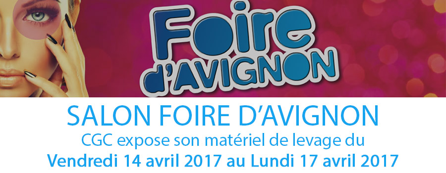 Transport levage location mini grue cgc transports for Salon du chiot avignon 2017